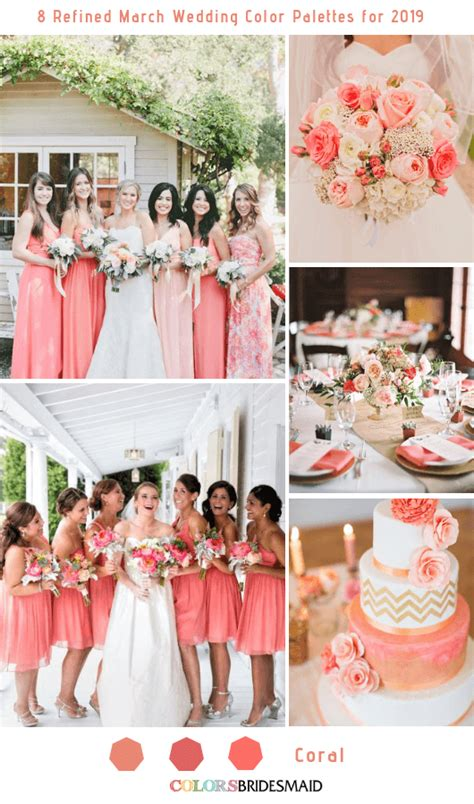march color 8 refined march wedding color palettes for 2019