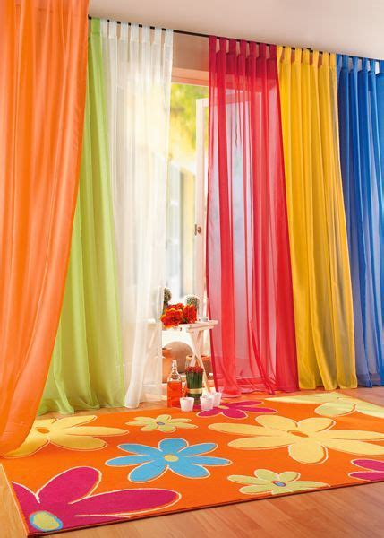 colorful curtains beautiful living room curtain ideas decozilla