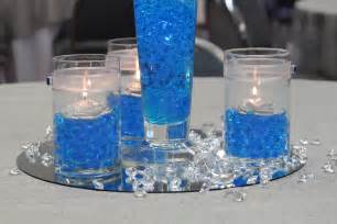 blue wedding centerpieces for creating romantic wedding