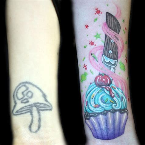 tattoo cover up colors color cupcake coverup by angela leaf tattoonow