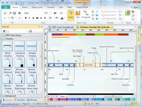 Timeline Drawing Software