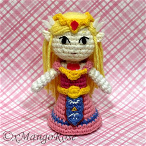 zelda plush pattern princess peach amigurumi doll plush from xmangorose on etsy