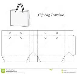 small gift bag template blank gift bag template stock vector image 48154672