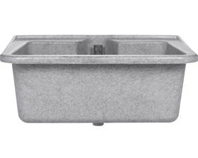 lavabo wega couleur granite acheter sur hornbach ch