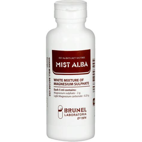 Lost In Mist 100 Ml white mixture of magnesium sulphate 100ml clicks
