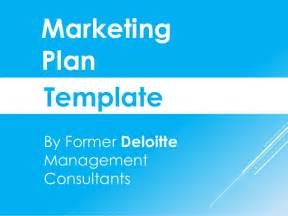Marketing Plan Template Free Powerpoint by Marketing Plan Template In Powerpoint