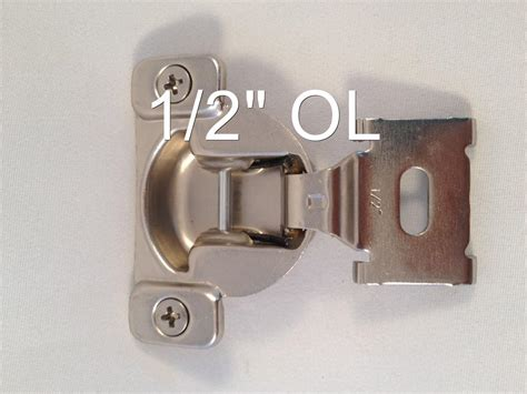 kitchen cabinet replacement hinges 1 2 quot 1 7 16 quot compact face frame kitchen cabinet hinge ebay