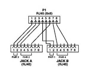 modular y splitter 10base t 10base t ecs205 1