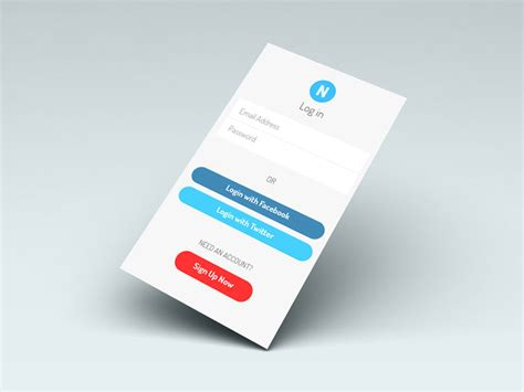 Best Kitchen Design Software Free App Login Screen Ui Psd Free Download
