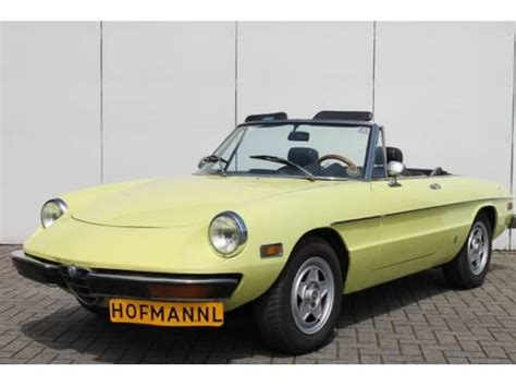 1974 Alfa Romeo Spider For Sale by 1974 Alfa Romeo Spider 2 0 For Sale Classic Cars Hq
