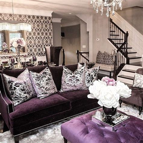 purple home decor best 25 purple living rooms ideas on pinterest purple