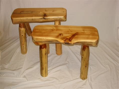 rustic log benches rustic log benches stools