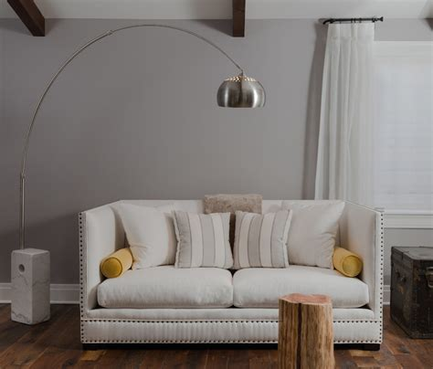 High Back Sofa   Transitional   living room   Beckwith