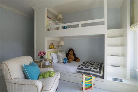 bunk beds with bookcase headboards bunk beds with bookshelf headboards my