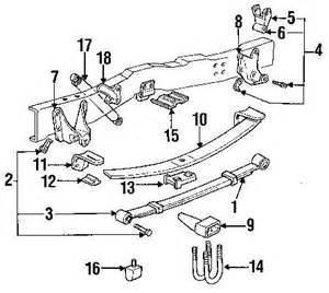 95 Ford F150 Parts Spacer Rear Axle Housing Leaf Ford F150 F250 F350