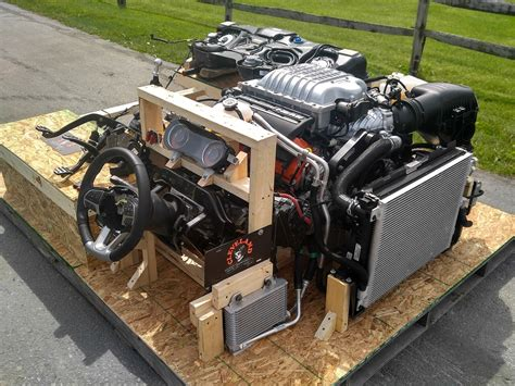 Worlds First Hellcat Turnkey Engines!   Cleveland Power