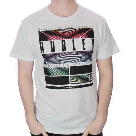 Kaos Tshirt Hurley White 02 1 hurley t shirt hemisphere ebay