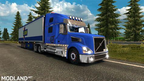 volvo truck shop volvo vnl truck shop v1 3 1 27 templates mod for ets 2