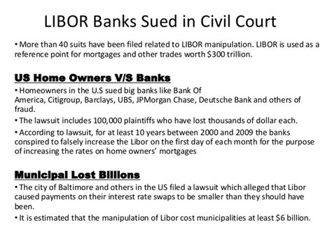 libor bankers association all about libor