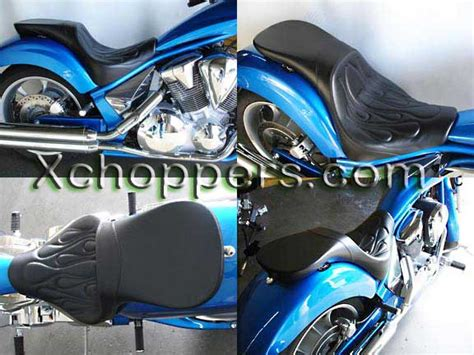 honda fury motorcycle seats xchoppers parts for honda vtx1800 vt1300 fury suzuki