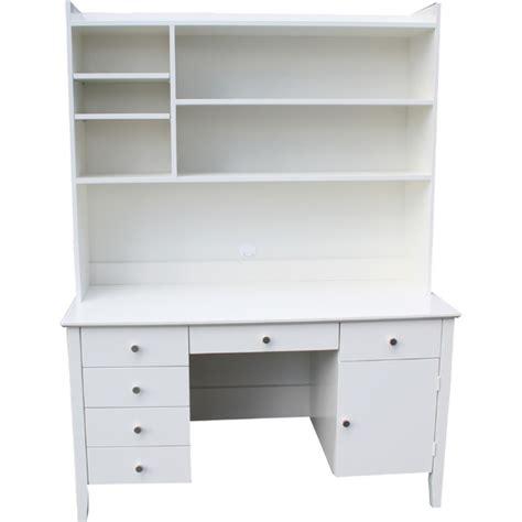 desk with hutch white whitevan