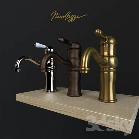 Nicolazzi Faucet by 3d Models Faucet Basin Mixer Nicolazzi Aqua 3471 Cr 76