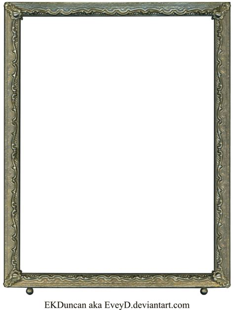 photo frame antique vintage silver photo frame by eveyd on deviantart