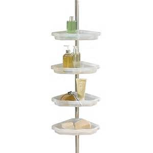 Bed Bath And Beyond Shower Caddy Better Sleep Atlas 4 Shelf Tension Pole Corner Shower