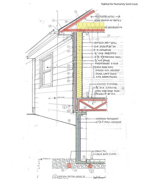 section technical drawing 46 best images about wall detail section on pinterest