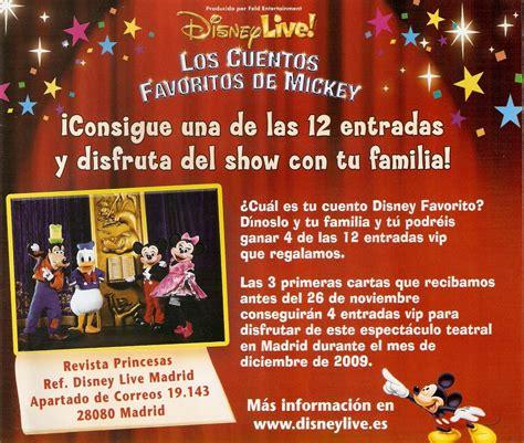 entradas para disney live entradas para disney live los cuentos favoritos de mickey