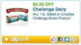 Challenge Butter Sweepstakes - 1 off challenge butter coupon facebook