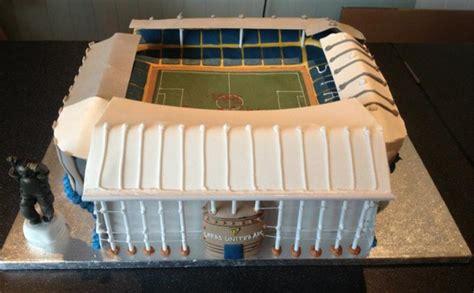 Wedding Cake Leeds by Leeds United Cake Elland Road Football Stadium Birthday Cake