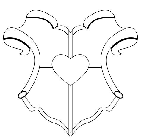 family shield template blank family crest template cliparts co