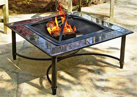 Firepits Direct Asia Direct 34 Inch Square Marble Pit Table