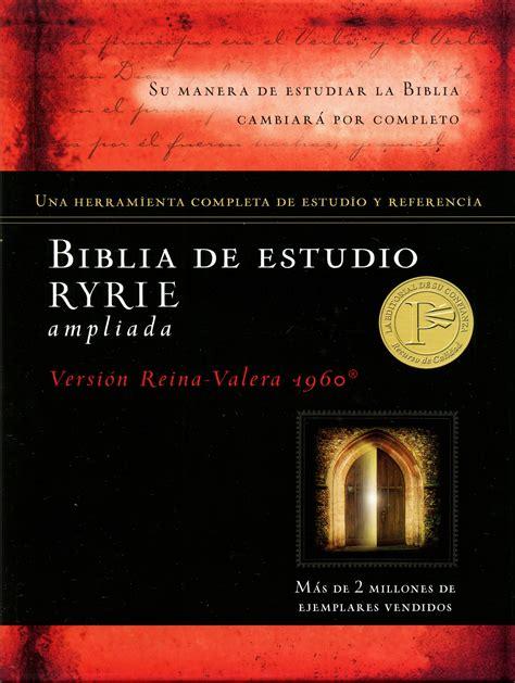 biblia de estudio de biblia de estudio ryrie liada su manera de estudiar la biblia cambiar 225 por completo