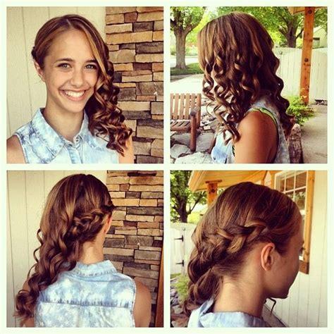 hairstyles for middle school graduation gorgeous 8th grade graduation hair hair pinterest