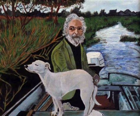 goodfellas dog boat painting art life tv etc quot one dog goes one way and the other