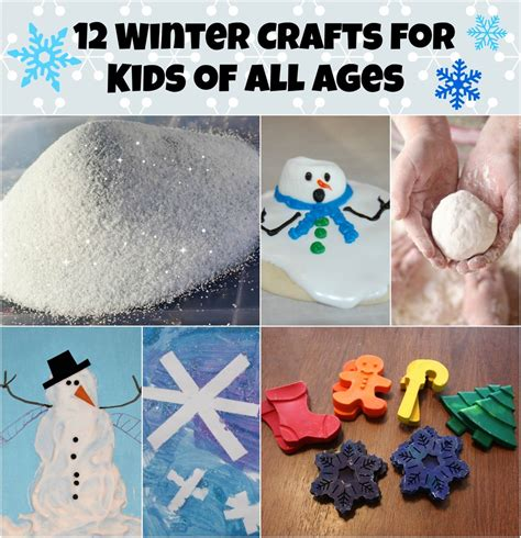 winter crafts for 12 winter crafts for of all ages