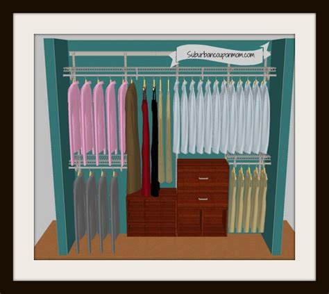 Closetmaid Closet Design Closetmaid Shelftrack Elite Closet Organizer 225 Arv