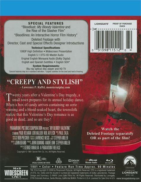 my bloody special edition my bloody special edition 1981 dvd