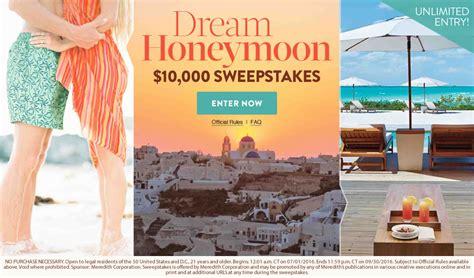 Martha Stewart Sweepstakes - martha stewart weddings splash dream honeymoon 10 000 sweepstakes martha stewart