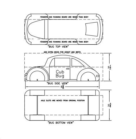derby car design templates pinewood derby templates 11 documents in pdf