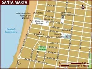 santa marta california map map of santa marta