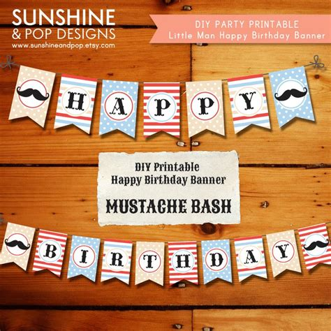 printable mustache birthday banner 110 best images about bulletin boards classroom decor on