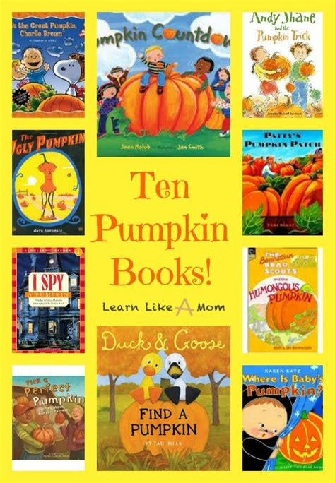 pumpkin picture books learn like a reading roundup pumpkin books learn