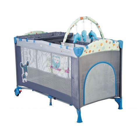 lit parapluie bleu lit pliant pour enfant