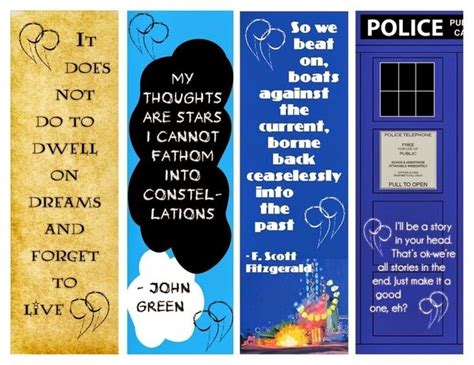 free printable bookmarks with quotes bookmark templates with quotes quotesgram