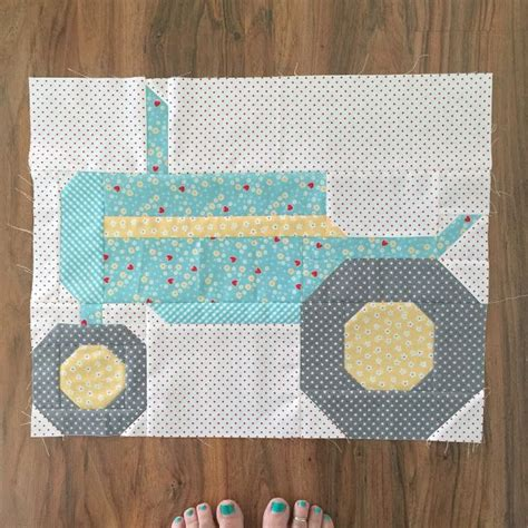 best 20 tractor quilt ideas on farm quilt