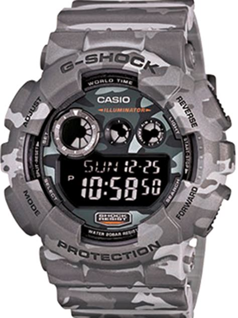 Casio Gshock Gd 120cm 4 Read Army preview the new g shock camo series