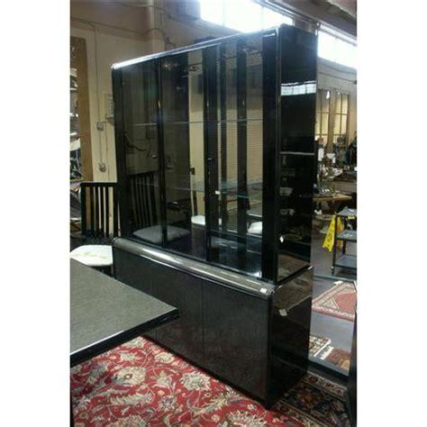 black lacquer cabinet modernistic black lacquer china cabinet
